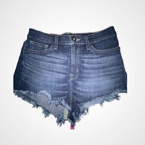 Vintage Guess Cutoff Denim Dark Wash Shorts 27